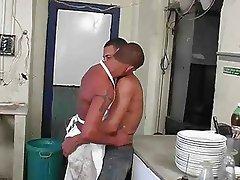 Brazilian kitchen sex