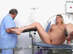 Samantha Gyno Exam by Gynecologist