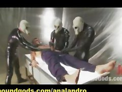 UFO Gay BDSM Gang Bang Double Penetration