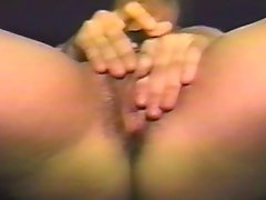 Mature Huge Clit Play 1