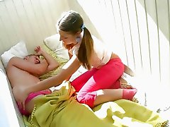 Teen Anna sucking
