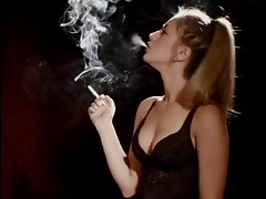 Cutest smoking girl ever!