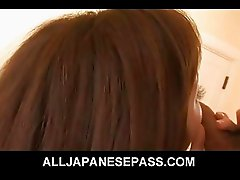 Gorgeous Mei Haruka Hairy Pussy Humping On Top
