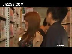 girlfriend fucked by other man in comic store 01