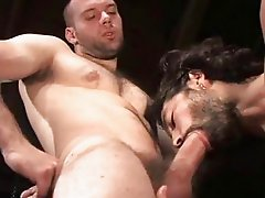 Hairy Muscular Studs Fucking With Style