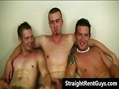 Super hot hetero guys doing gay sex part6