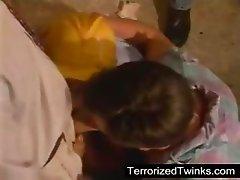 Terrorized twink
