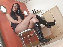 Busty Hot Tranny - Must See!!! - by TLH