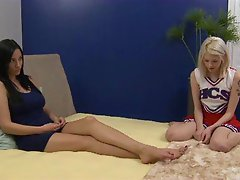 Jelena Jensen Licks Out Cheerleader Bree Daniels