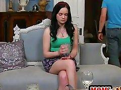 Jennas stepmom fucks her boyfriend