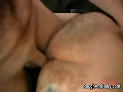 Kinky gay scene with two dudes