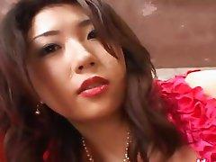 Real cock smoking gangbang from Tokyo