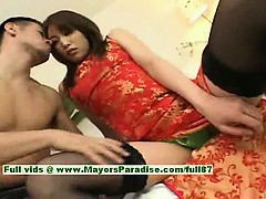 Ayane innocent chinese girl enjoys a hard core fucking