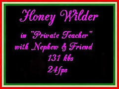Honey Wilder in Private Teacher