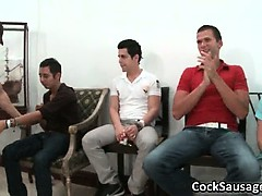 Gay cock sausage party getting out part1