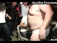 Straight guy fucked by big fat guy