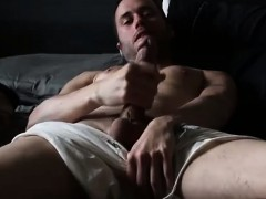 Jerking Long Cut Cock