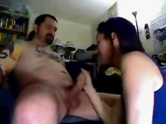 Biker dude fucks his biker chick hard
