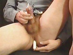 Cumshot After Anal Stimulation