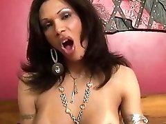 Big ass Latina T-MILF's ass destroyed by massive black cock