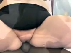 A little anal bbw bbc