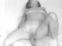 Yvonne gets her shaved pussy fucked