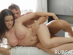 blowjob massage and wild sex movie