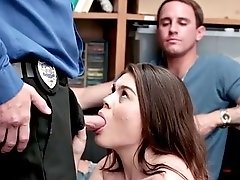 young hottie veronica vega pussy banged for shoplifting