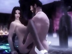 gothic princess with a sex slave