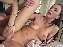 nasty anal threesome with tina kay and lilu moon
