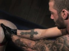 Boys first time being fisted and sexy young gay fisting movi