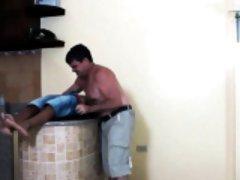 Tickling daddy rimming filipinos ass