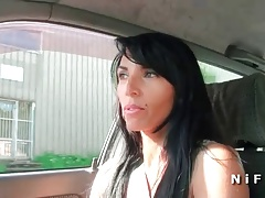 Sexy french milf licked and fucked