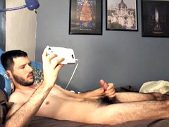 str8 guy bedroom wank ll