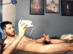 str8 guy bedroom wank ll