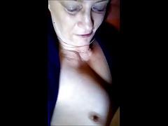 Granny lovrs tits fondling