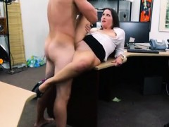 Bbw white girl interracial and real public blowjob PawnShop