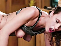 clients britney amber gets her pussy massage and licks it by jade nile