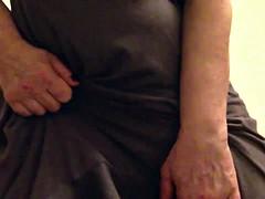 Sexy granny big tits masterbates squirts and ends