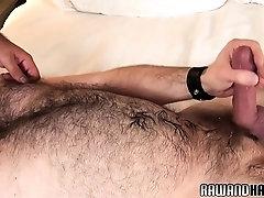Mature hairy bear slamming tight ass bareback