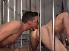 hot prison sex with two sexy studs