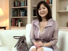 Stacked Asian mom gets her hairy twat fucked and creampied
