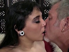 full mouth pierced fatty syra suicide couch fucked