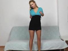 Huge boobs Abigail perverse nylon fetish