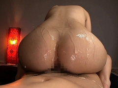 Bodacious Japanese nympho has a hard dick plowing her cunt