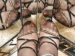 Spring stilettos and RHT NYLONS