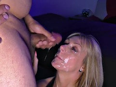 zoey amateurs facial uk + jade amateurs facial uk