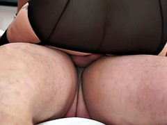Sexy mature mother gets sex cuni and cum