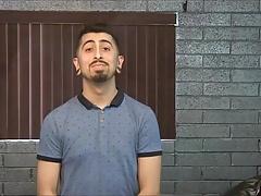 Latin hunk Rick in his gay casting video