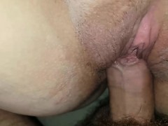 Taking his cock from pussy to ejaculate